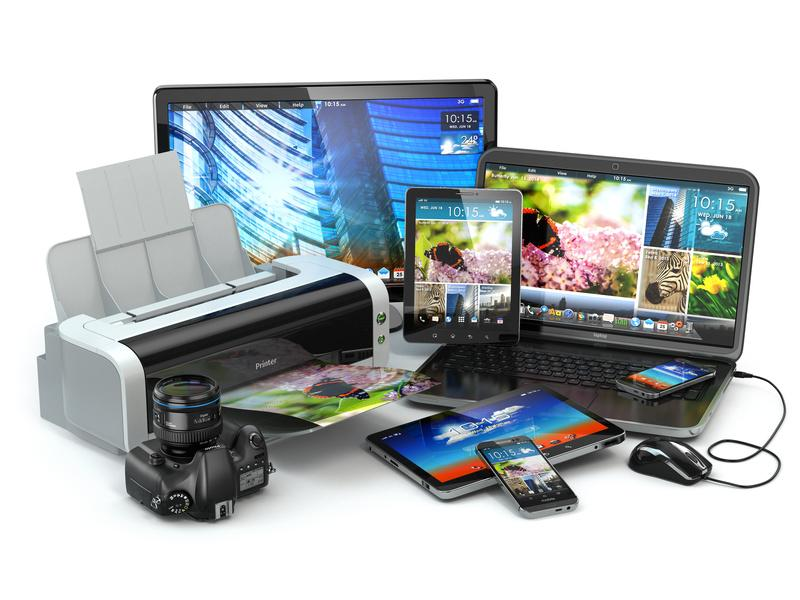 Ремонт компьютерной, цифровой и бытовой техники
