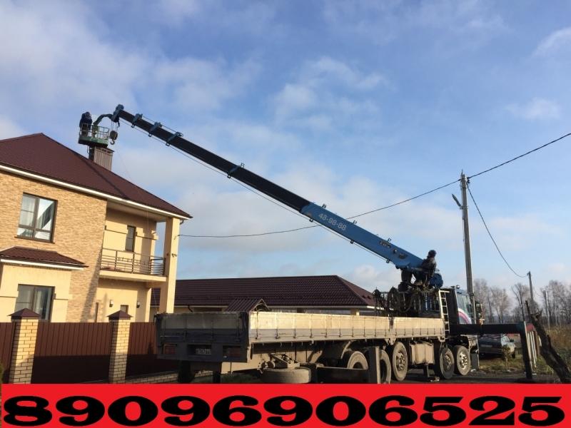 Услуги и Аренда Автовышки для любых работ от Собственника по Югу Подмосковья